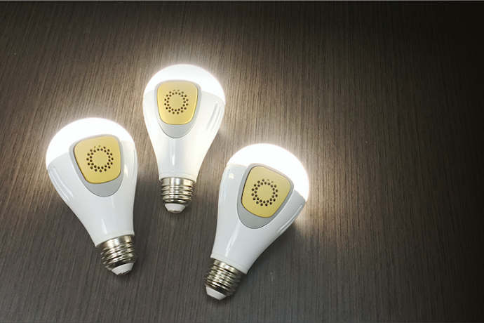 BeON Home: The smart lightbulbs that keep your house safer