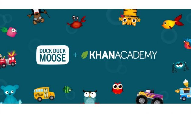 Khan Academy goes to preschool with Duck Duck Moose. Hooray for free educational apps!