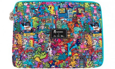 Manga madness! The outrageous new animé laptop sleeves from Tokidoki and Ju-Ju-Be