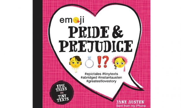 Emoji Pride and Prejudice. Answer the pressing question, was Mr. Darcy really just a poop?