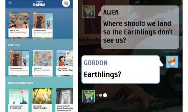 Amazon Rapids: A new chat-style app that might just get your kids reading more
