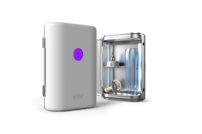 The Ellie portable sterilizer. A germaphobe's dream gadget!