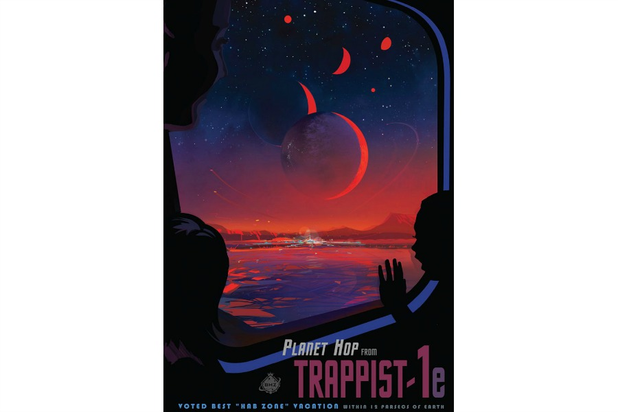 Web Coolness: The new NASA travel poster, a hot Instagram feature, and why people are leaving Snapchat