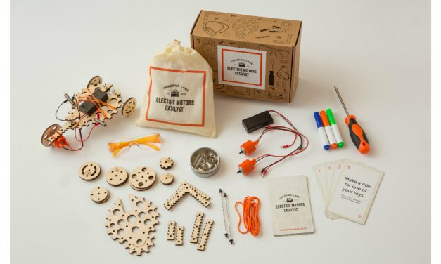 Let kids choose their own STEM adventure with the Electric Motors Catalyst box.
