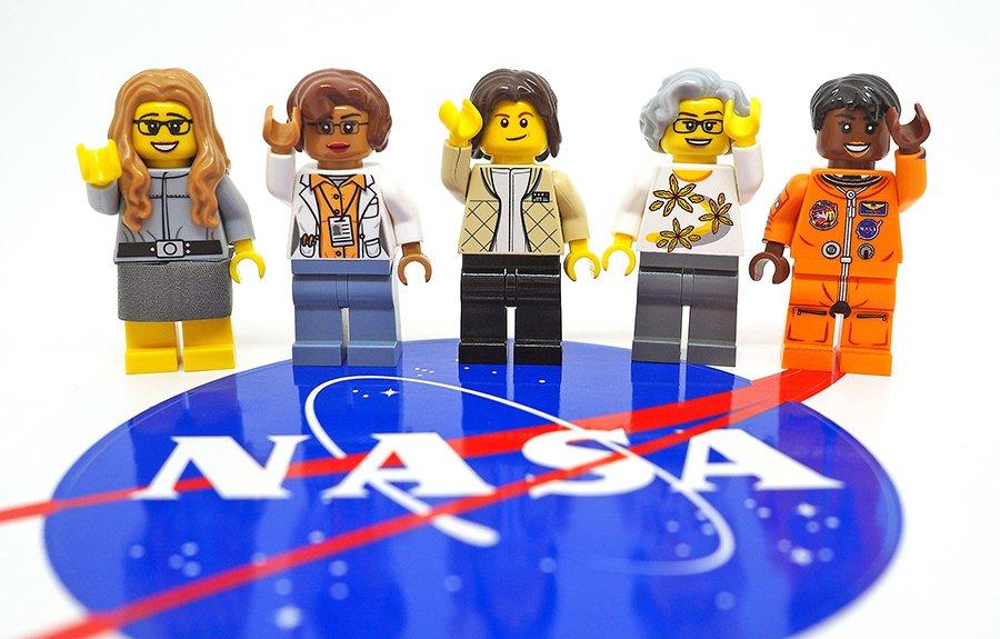 The Women of NASA LEGO set is coming! #Shero!