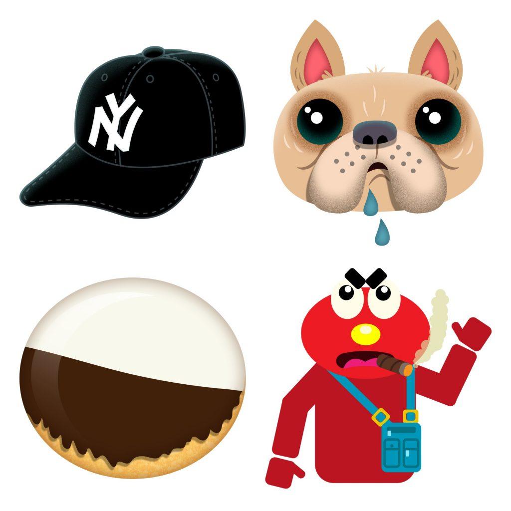 NYC Emoji we'd like to see via the Village Voice + illustrator Joe Rocco | coolmomtech.com