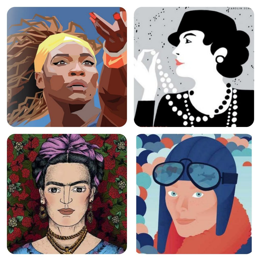 Emojis we'd like to see: The feminist heroes from Goodnight Stories for Rebel Girls