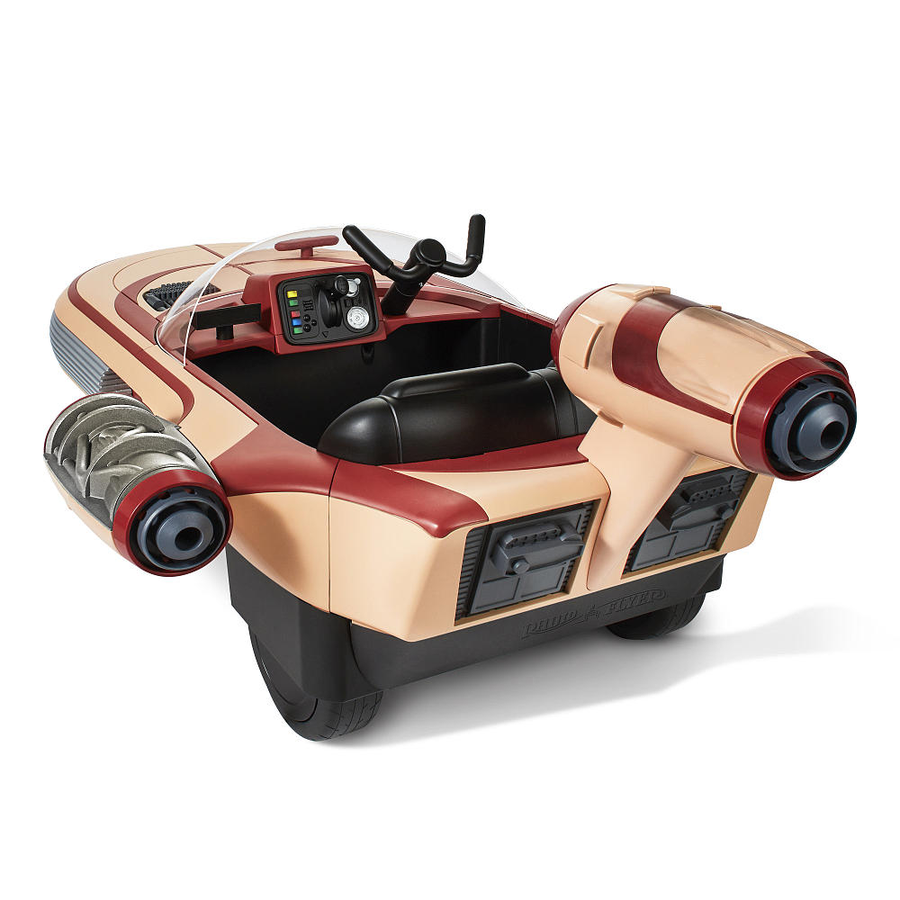 Star Wars Landspeeder Ride-On just out from Radio Flyer and Lucasfilm! | coolmomtech.com