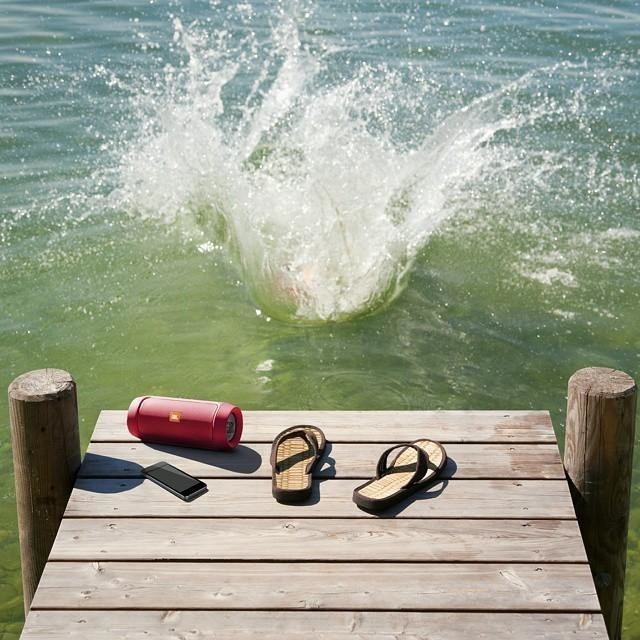 Devices that deserve to go on family vacation: JBL waterproof Bluetooth speaker