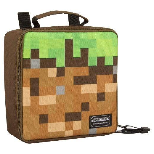 cool gamer school supplies | Minecraft Lunch Pack | back to school shopping 2017