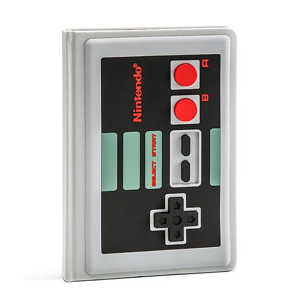 cool gamer school supplies | Nintendo Controller Notebook | back to school shopping 2017