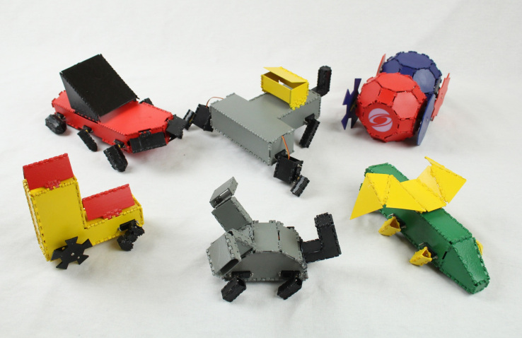 MIT's Robogami lets you build custom 3D-printable robots from standard, folding parts | TechCrunch