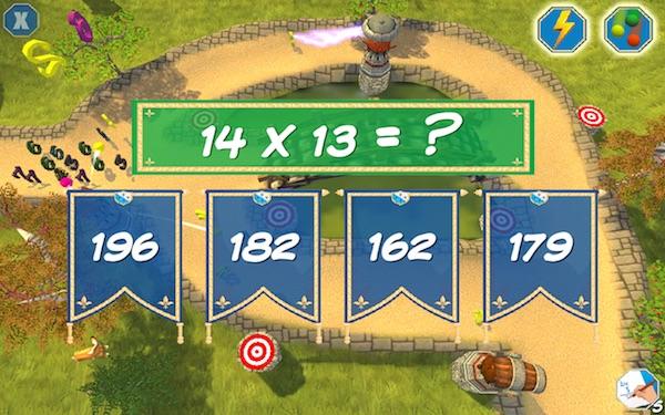 Best math apps for kids: Tower Math