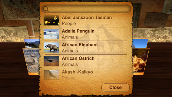Best reading apps for kids: Geo Walk 3D World Factbook
