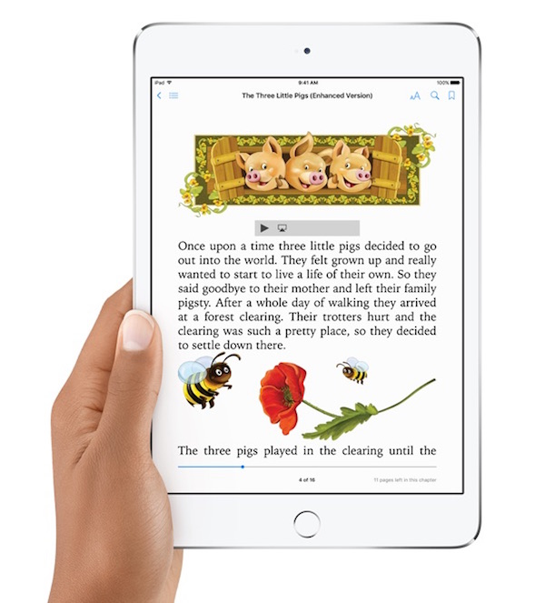 Best reading apps for kids: iBooks