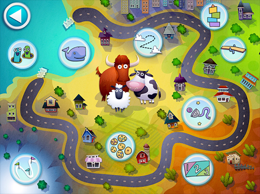Drive About Number Neighborhood: One of the best beginning math apps for kids | coolmomtech.com