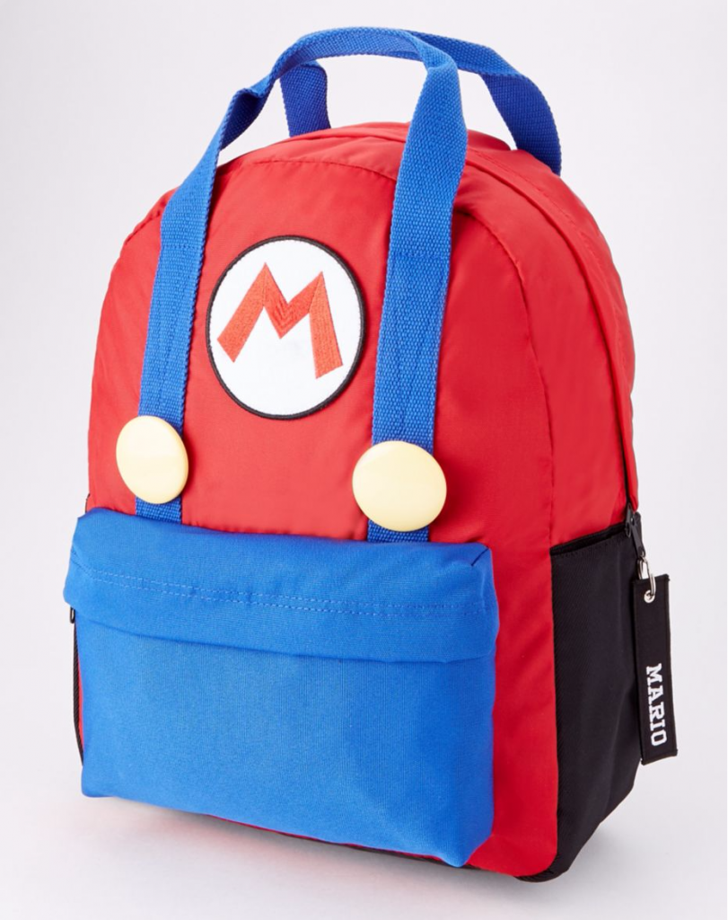 Mario Backpack: So great! | cool gamer back to school gear
