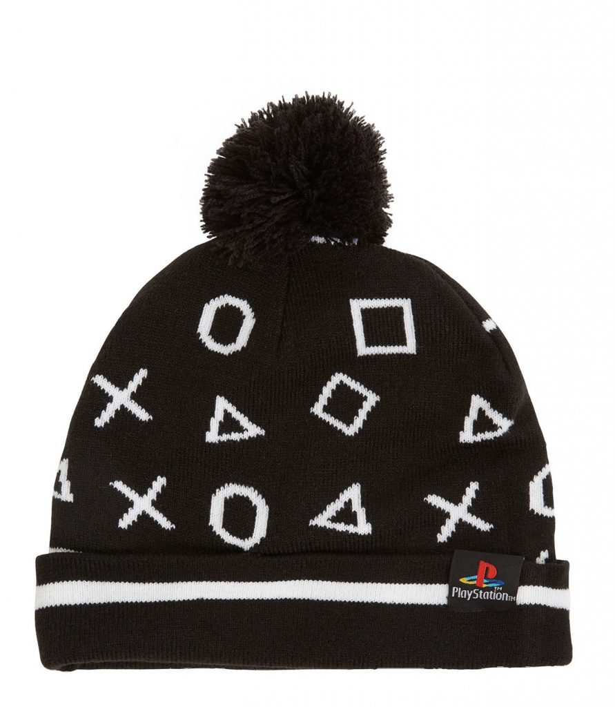 Playstation icon beanie: Cool gamer school supplies | coolmomtech.com