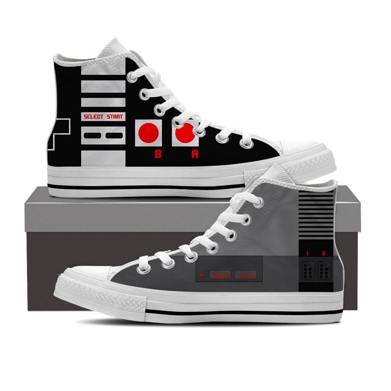 Retro gaming high tops | back to school supplies for gamers | coolmomtech.com