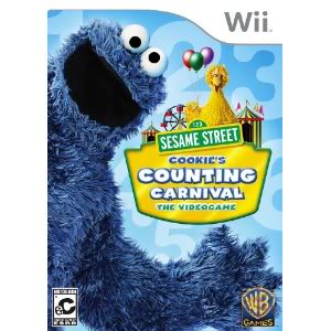 C is for cookie. And counting. And cool, Sesame Street just took on video games.
