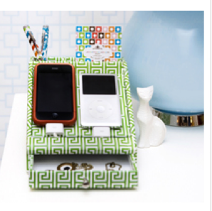 Jonathan Adler goes wired. Or really, unwired.