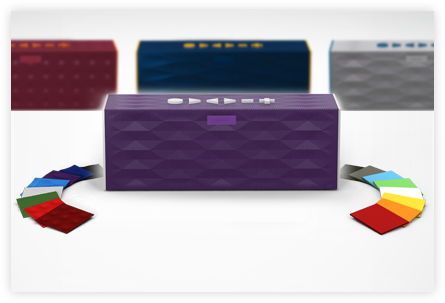 Say it with speakers: a customizable Jambox makes an awesome gift