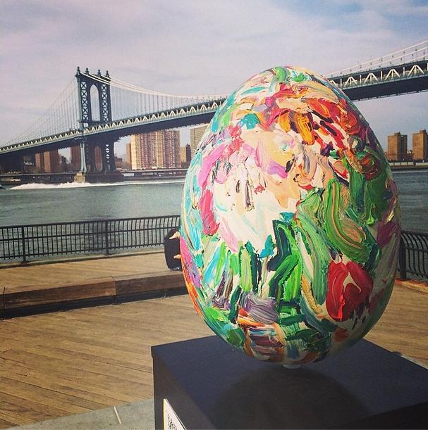 The best eggs of the Big Egg Hunt NY: Easter meets art meets social media meets social good