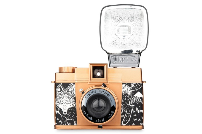The new, limited edition Diana F+ camera: It's artsy, cool, and special.
