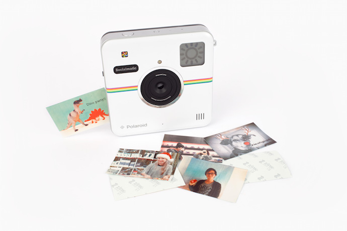 Yes, those were angels you heard singing. The Polaroid Socialmatic camera is finally here!