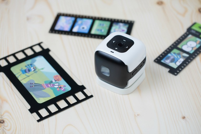 CINEMOOD brings family entertainment to your wall (or anywhere) in a really cool new way
