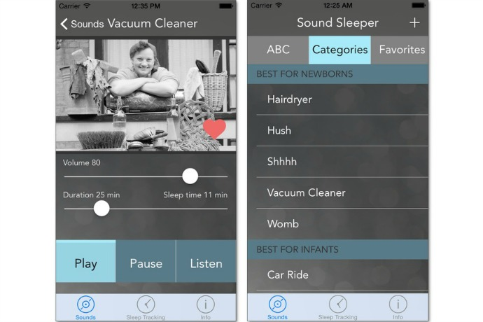 Sound Sleeper white-noise app for parents: Our cool free app of the week