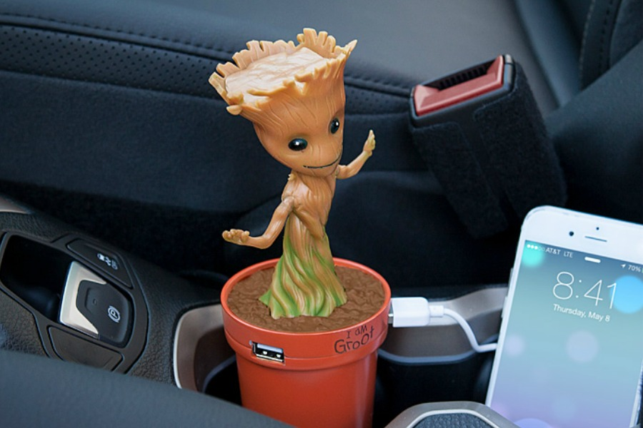 I Am Groot! That's Groot speak for, I am here to charge your phone.