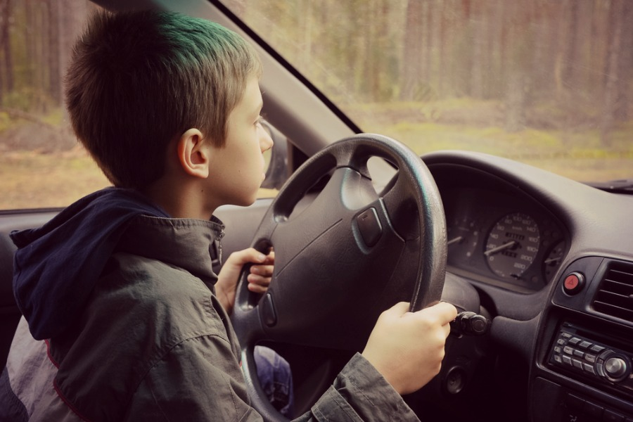 An 8-year old boy learned how to drive on YouTube, then drove his sister to McDonald's. Um.