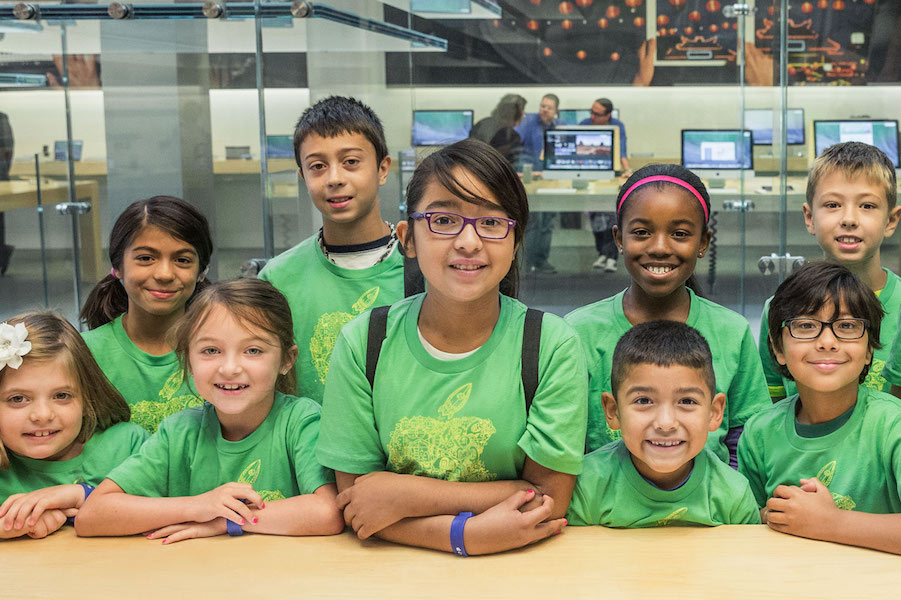 Sign your kids up for free Apple camp sessions this summer – if you hurry!