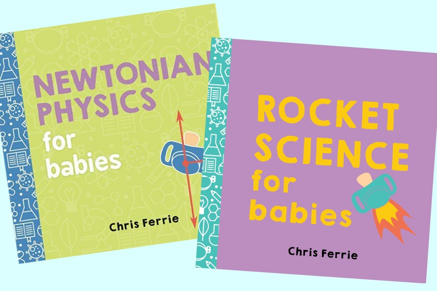 Can these board books tech babies rocket science?