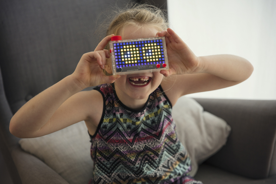 Pixel Kit: It's Lite-Brite for the 21st-century tech-savvy kid. And it's awesome.