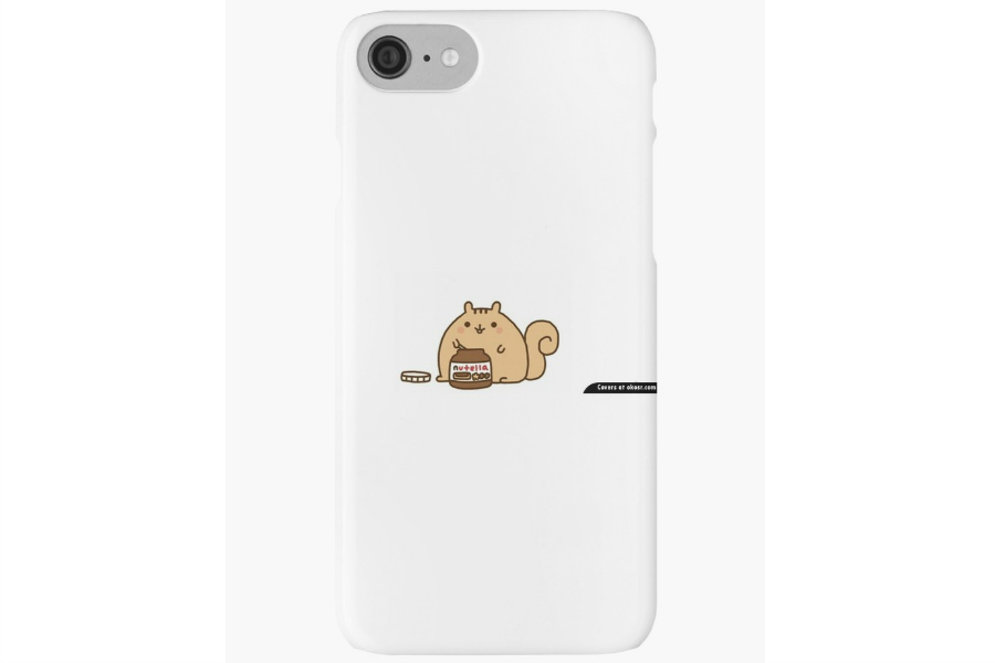 iPhone 8 Cases: Pusheen Nutella