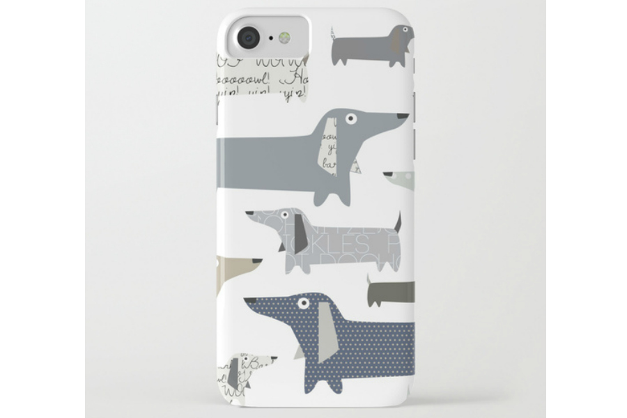 iPhone 8 Cases: Weiner Dog