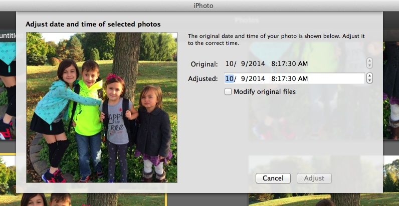 How to set a new date and time for your photos on a Mac | Cool Mom Tech