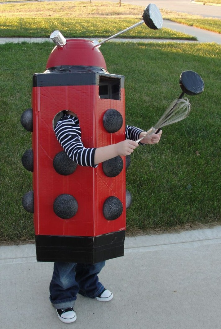 Geeky Halloween costumes for kids: Dalek at One Half World
