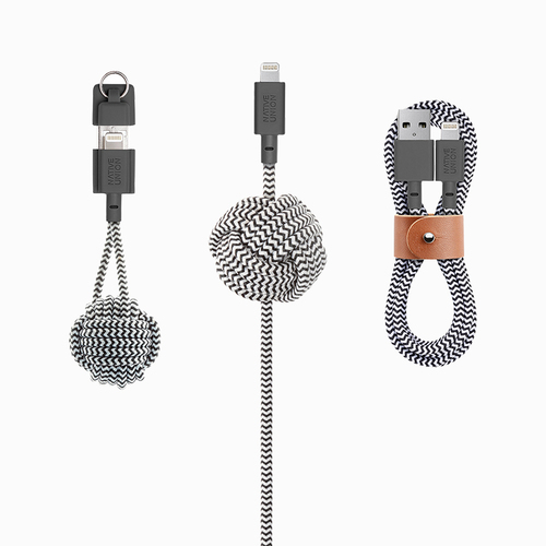 Cool practical tech gifts: Native Union lightning charging cable collection | Holiday Tech Guide 2017