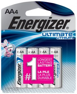 Energizer Ultimate Lithium Batteries | Sponsor