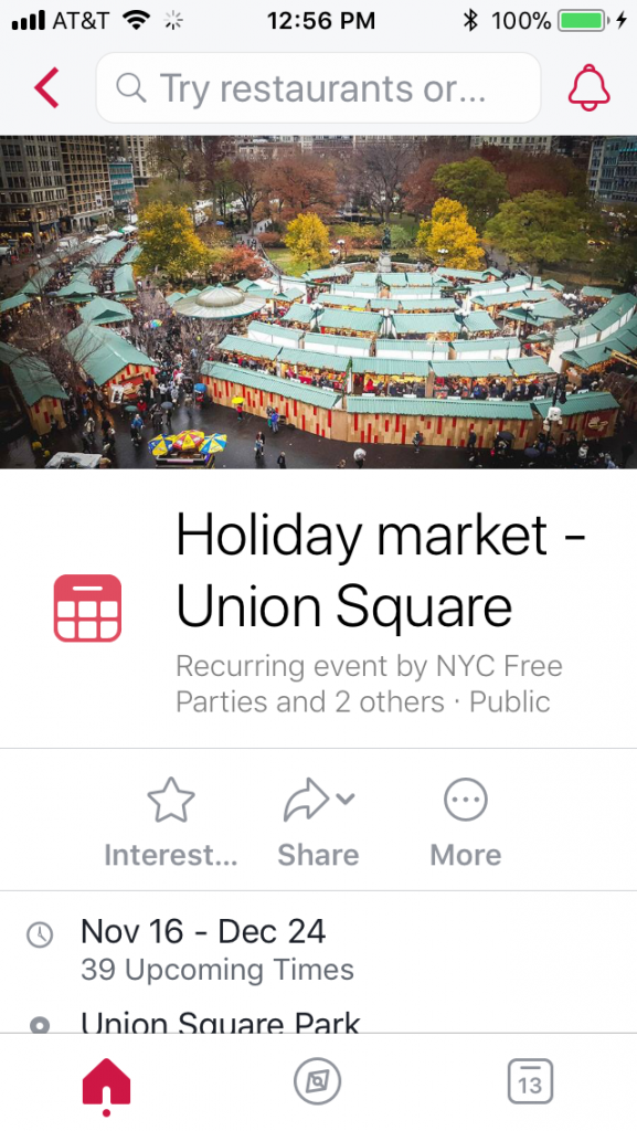 Local from Facebook transforms the Events app into one that's really useful