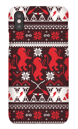 Holiday iPhone Cases: Hogwarts Gryffindor | 2017 Holiday Tech Gift Guide