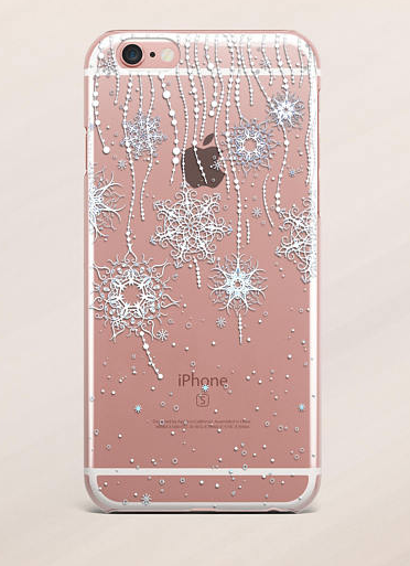 Holiday iPhone Cases: Snowflakes | 2017 Holiday Tech Gift Guide