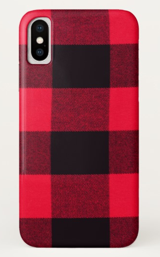 Holiday iPhone Cases: Buffalo Plaid | 2017 Holiday Tech Gift Guide
