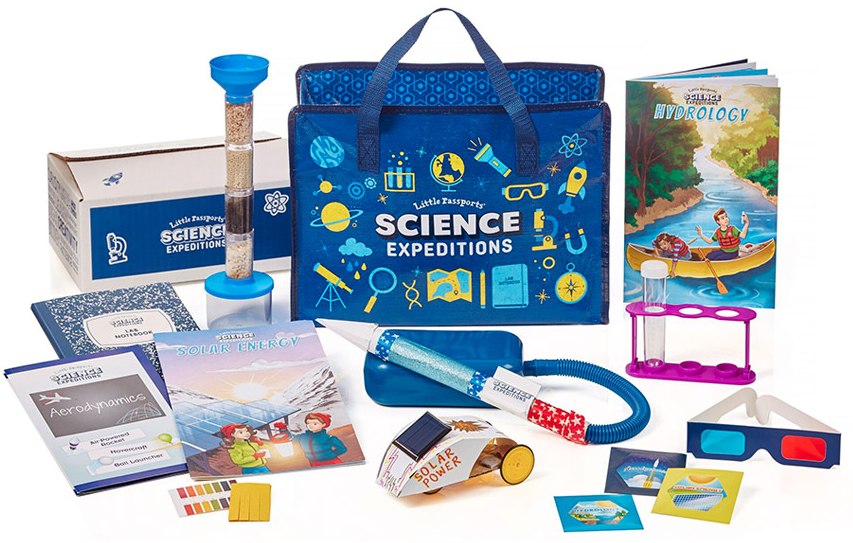 STEM box subscription gifts for kids from Little Passports Science Expeditions | 2017 Holiday Tech Gift Guide