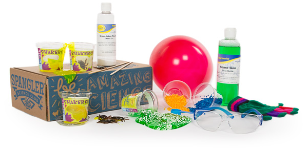 STEM box subscription gifts for kids from Steve Spangler's Science Club   2017 Holiday Tech Gift Guide