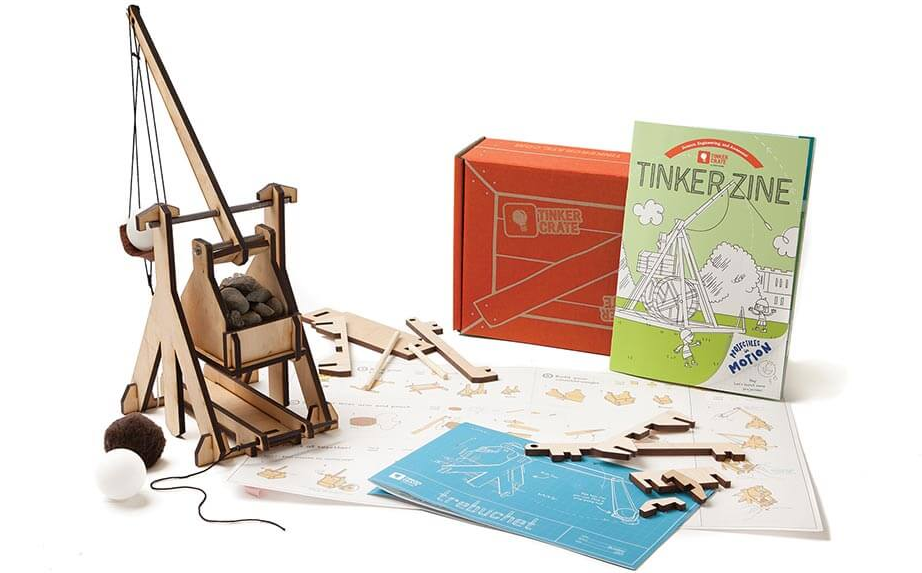 STEM box subscription gifts for kids from Tinker Crate by Kiwi Co | 2017 Holiday Tech Gift Guide
