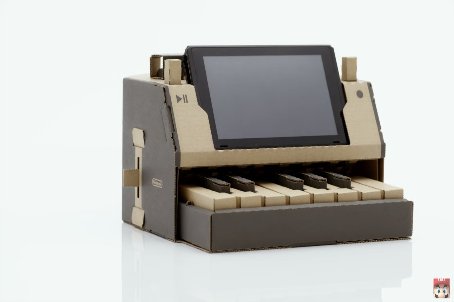 A first look at the new, rad cardboard accessories for the Nintendo Switch.